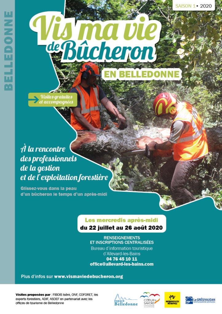 flyer Vis Ma Vie de Bûcheron